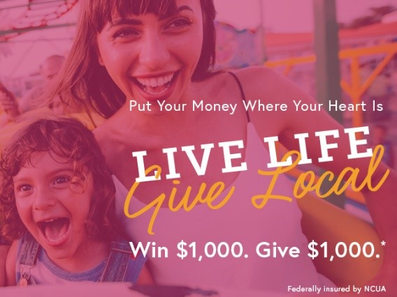 """CAP COM Launches """"Live Life, Give Local"""" Campaign and Cash"""