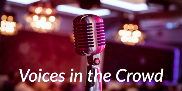 Image result for voices in the crowd